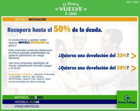 Banco Gallego - Hipoteca Devolucion